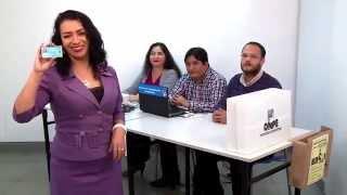 ONPE: Pasos de la votación electrónica para elecciones municipales 2015