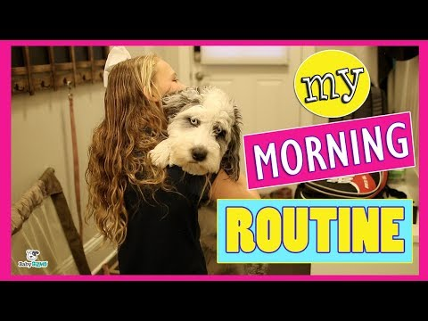 My School Morning Routine  Winter Edition