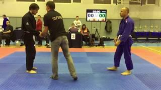 Alexander Lyadov vs Mykola Strigun (BJJ Ukraine Open 2017 | White belt | Masters | -85kg | Final)
