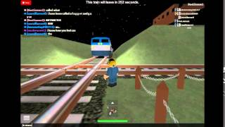 ROBLOX- Amtrak blows frequent horn