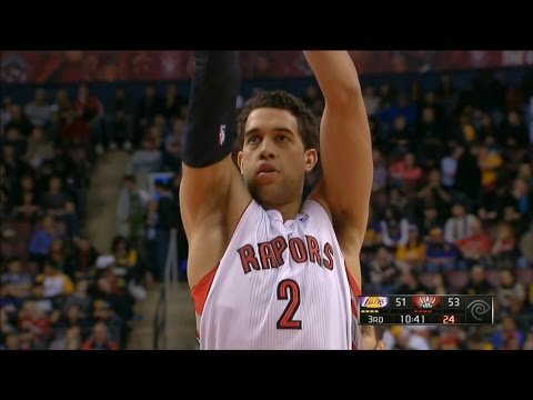 Landry Fields ( 18 pts, 10 reb ) vs Lakers (1-20-13)