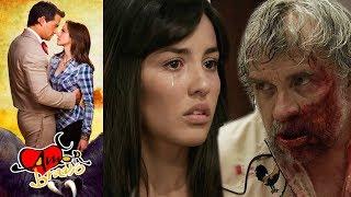 Amor Bravío: Andrés descubre que Leoncio es el agresor de Luzma l Escena - C26