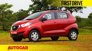 Datsun Redigo 1.0 | First Drive | Autocar India