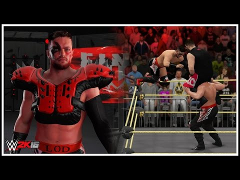 WWE 2K16 - Finn Balor Becomes A Road Warrior To Form LOD 2016! (The Legion Of Doom Return)