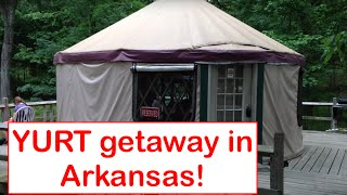 A Quick Yurt Getaway At Lake Catherine And Petit Jean State Park In Arkansas