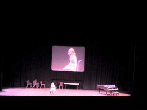 FL Thespian State Critic's Choice Solo Musical 2013 -
