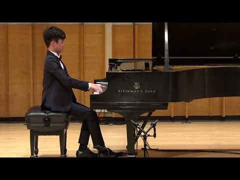 Henry Tang, piano - 2018 Henry Schneider Young Virtuosos Concert