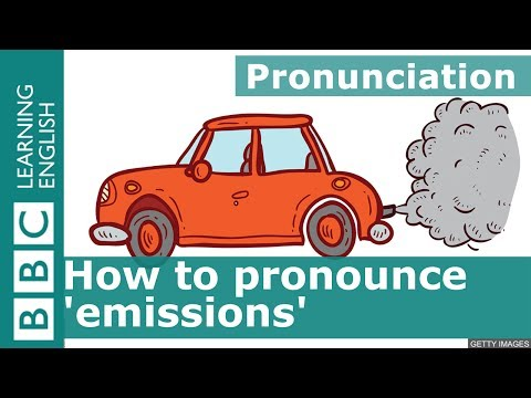 How to pronounce 'emissions'