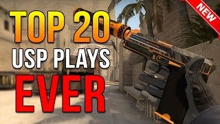 Top 20 USP Plays Ever By Pro Players ★ CS:GO