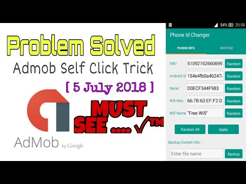 How To Fix [Device Id Changer] Admob Self Click [Xposed Installer] (5 July 2018) Bangla Tutorial
