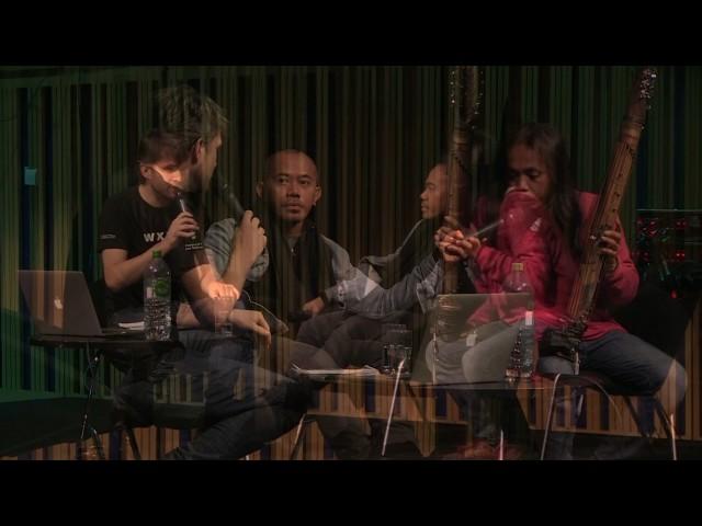 Tusk Festival 2016 —The Wire Talks —Senyawa