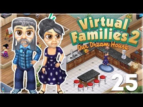 VIRTUAL FAMILIES 2👪 - Our Dream House | Part 2 - MARRIED AND NEW BABY!💍👶