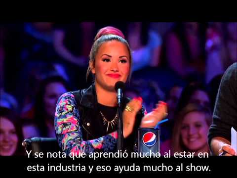 The X Factor USA - El jurado habla sobre Demi Lovato (Subtítulos en español) Travel Video