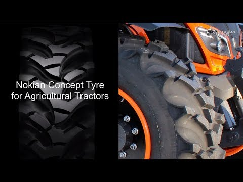 New Nokian Concept Tyre for Agricultural Tractors