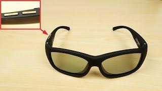 Прикольные очки с регулировкой затемнения из Китая! Посылка с Алиэкспресс. Распаковка и обзор очков.