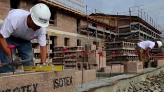 Isotex Academy - 1° Video Corso - Come posare correttamente il primo corso di blocchi