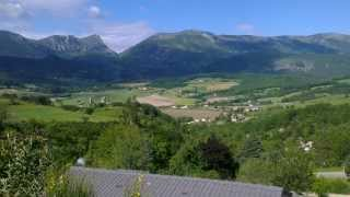 Uitzicht Bois du Chatelas, Drome