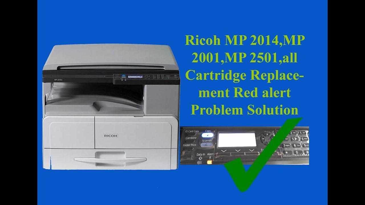 Ricoh Sc545 Error Reset