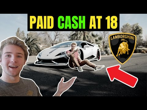 What I Do To Afford A Lamborghini At 18 Years Old