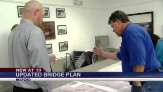 First Look For Changed Plans For Rexford Bridge