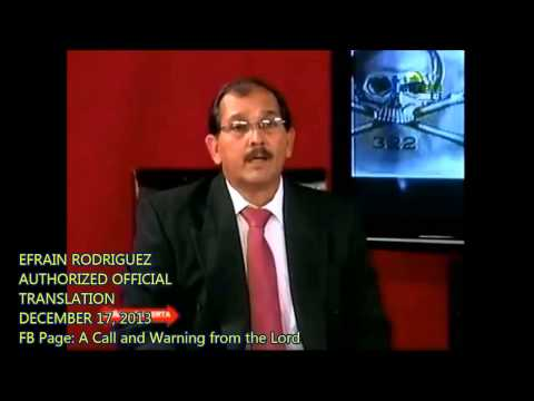 ENGLISH) ORIGINAL ASTEROID PROPHECY-PROPHET EFRAIN RODRIGUEZ, STO DOMINGO