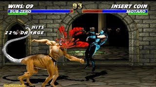 Ultimate Mortal Kombat 3 Classic Sub Zero Gameplay Playthrough