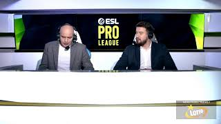 ESL Pro League Sezon 10   Grupa A   Dzień 1