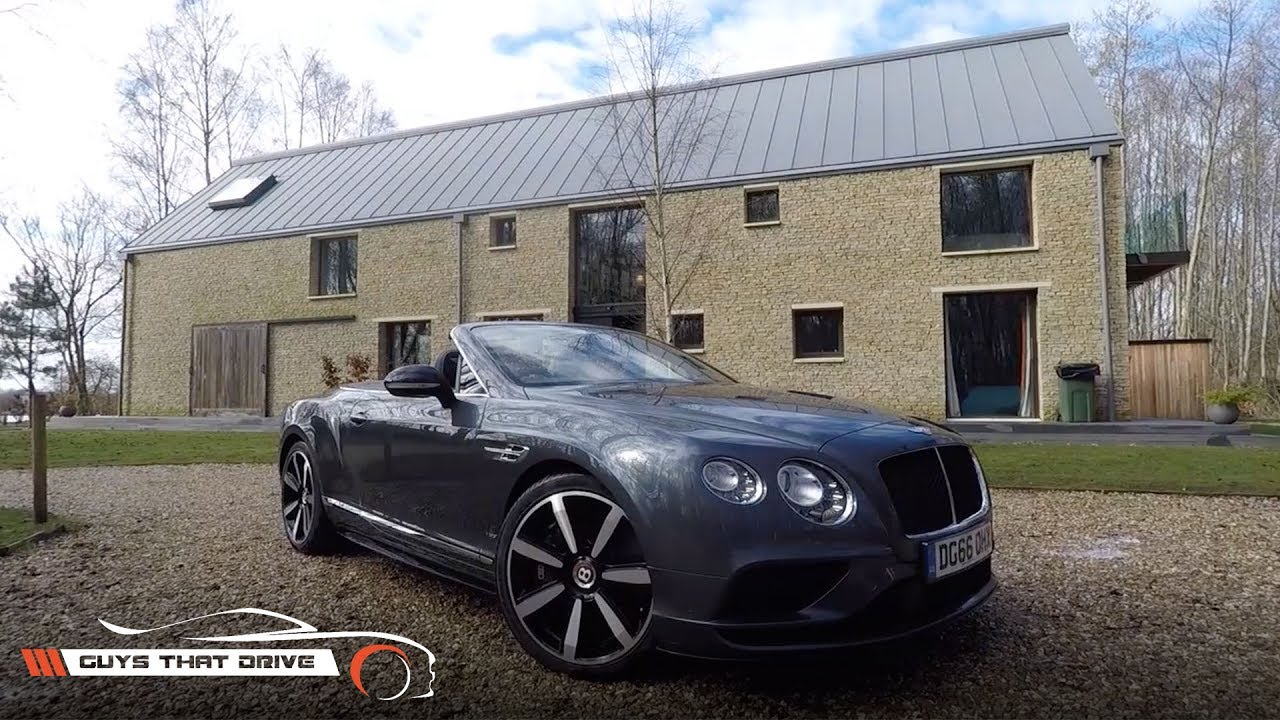 The Bentley Continental GT V8 S Convertible | LUXURY STOPOVER | GTD Vlogs