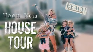 Teen Mom House Tour // living in our dream beach house at 19
