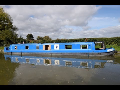 SOLD - Whio - 2006 Reeves 58' Cruiser stern narrowboat. Very good condition
