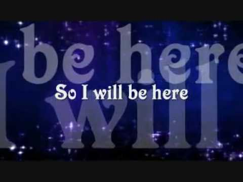 I Will Be Here - Steven Curtis Chapman mp3