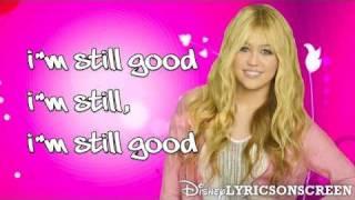 Hannah Montana I 39 m Still Good Lyrics HD.mp3