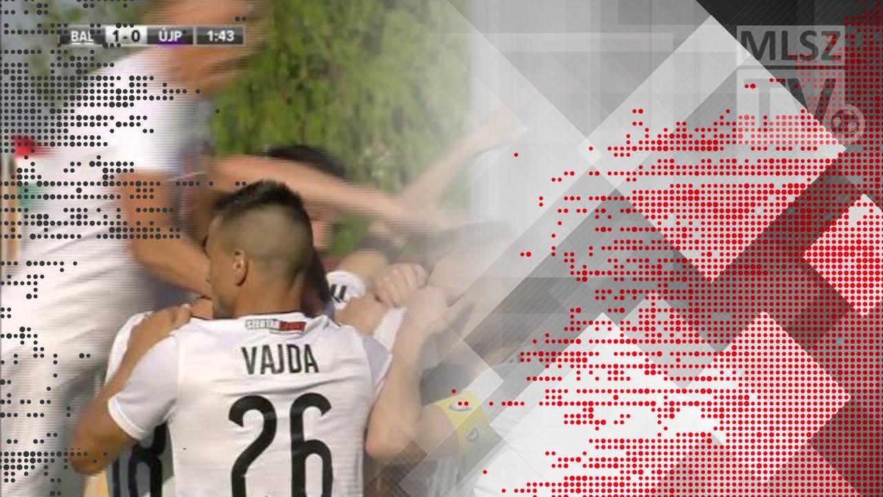 Andric Nemanja gólja a Balmaz Kamilla Gyógyfürdő - Újpest FC mérkőzésen