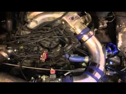 V6 Twin turbo VG30 hardbody Nissan - YouTube