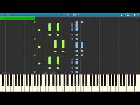 South Park Theme (Piano Tutorial Synthesia)