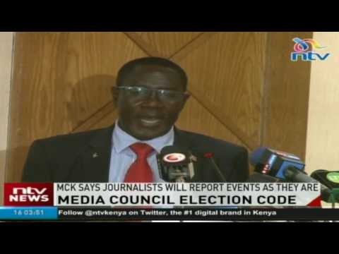 Media Council of Kenya pledges fairness in election coverage
