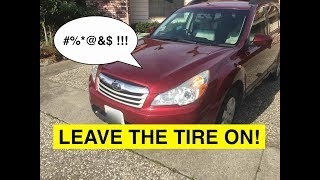 How to Change the head light bulb for Subaru Legacy and Outback. (2015 2014 2013 2012 2011 2010) thumbnail