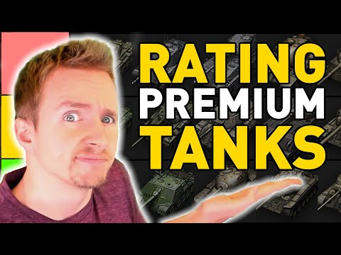 Rating ALL Tier 8 Premium Tanks in World of Tanks!