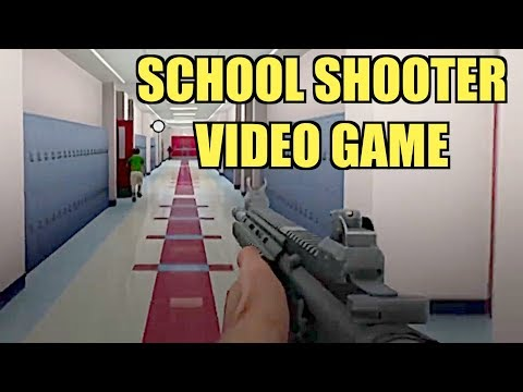 School Shooter The Video Game - A New Low For America...