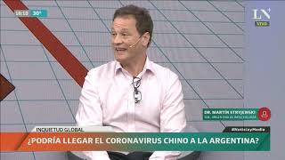 ¿Podría llegar el Coronavirus a la Argentina?