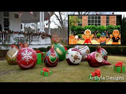 DIY Christmas Yard Decor