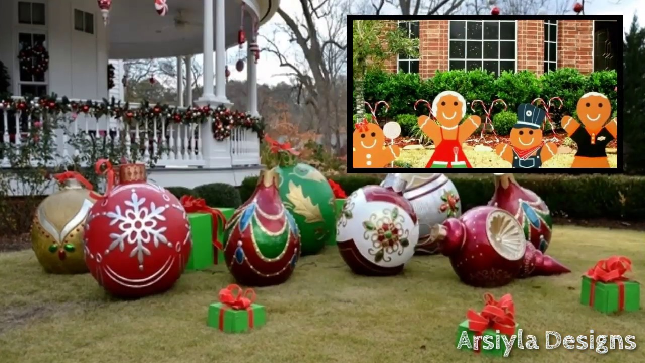 Diy Christmas Yard Decor