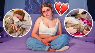 SOMETHING TERRIBLE HAPPENED TO MY CAT Ashby **Emotional Goodbye**💔| Piper Rockelle