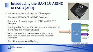 Aero-TV: Blue Avionics - AEA 2018 New Product Introduction