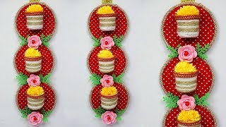 Handmade Wall Hanging Crafts | Wall Hangings For Home Decor | Waste Material Craft Ideas