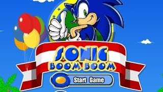 Sonic Boom Boom Walkthrough