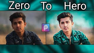 ZERO TO HERO Photo Edit In Picsart | Oil Paint+Retouch+Color Correction Editing | Picsart Tutorial