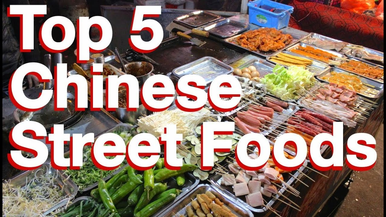 My 5 Favorite Chinese Street Foods YouTube