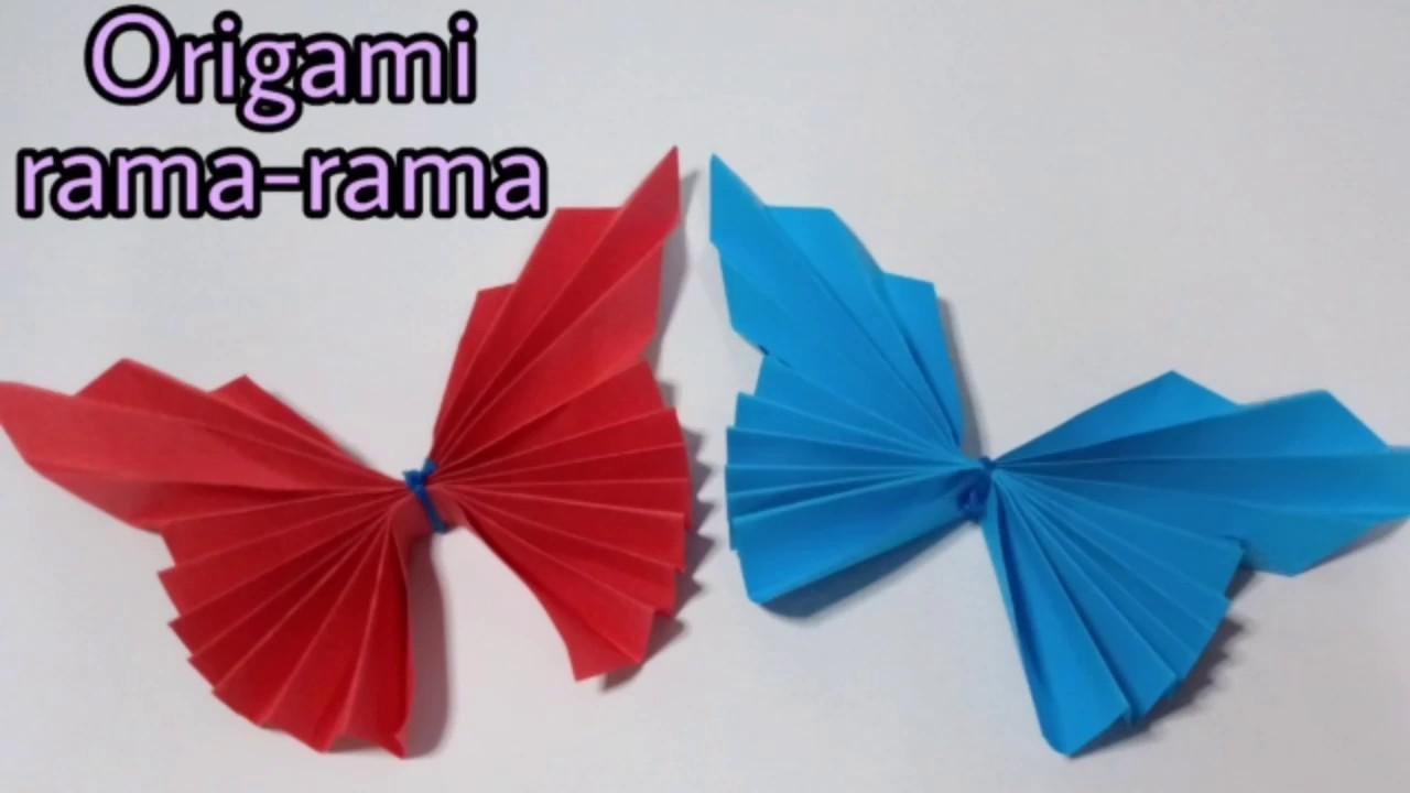 Cara Buat Origami Rama You