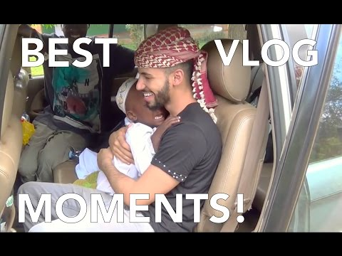 BEST VLOG MOMENTS OF 2015 - ADAM SALEH
